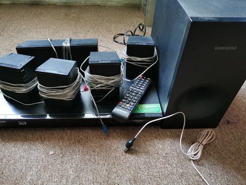 Home theater samsung blu ray 3d 5.1 canales muy buen estado