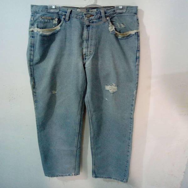 Jeans calvin klein hombre - azul claro
