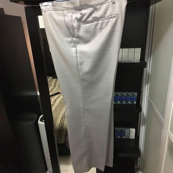 Pantalón de vestir slim marca oscar de la renta