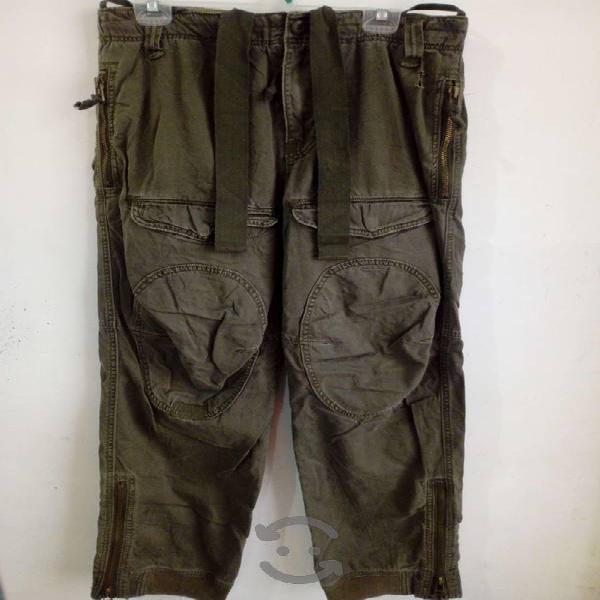 Pantalon cargo verde hombre - z brand