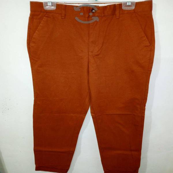 Pantalon skinny naranja hombre - zara man