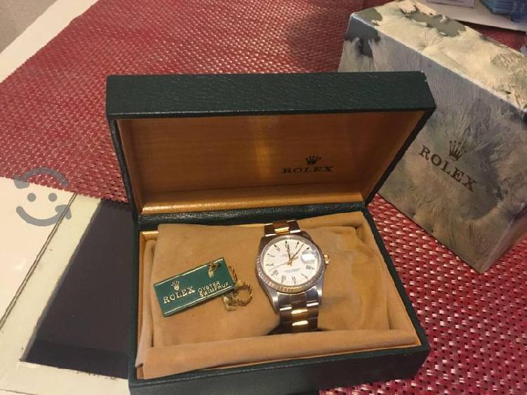Rolex original acero-oro 18k