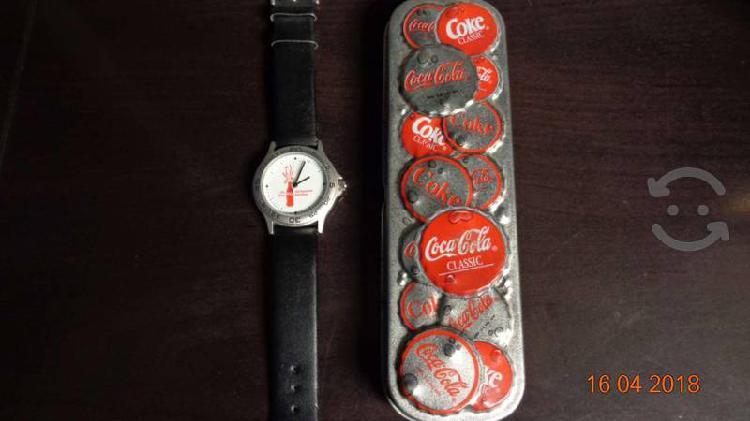 Reloj coca cola conmemorativo 125 años