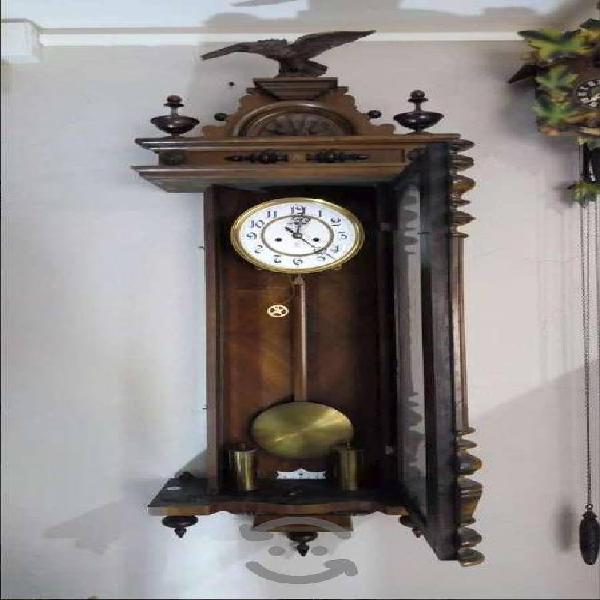 Reloj de pared marca gustav becker