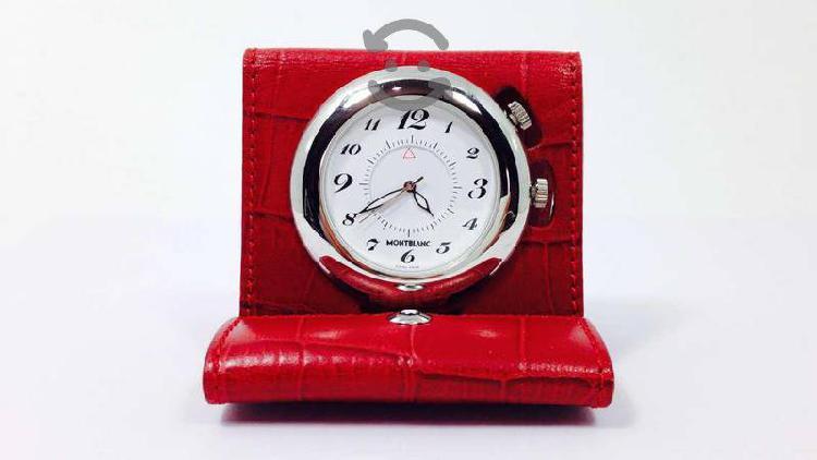 Reloj Despertador Original Marca Mont Blanc