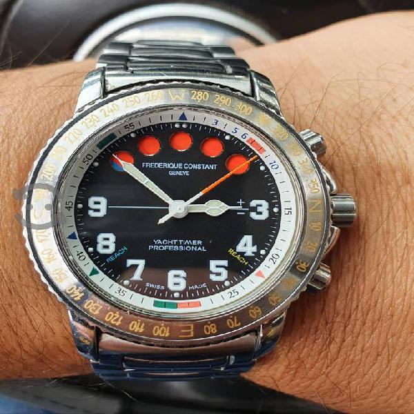 Reloj frederique constanr quartz regatta , vta.cmb