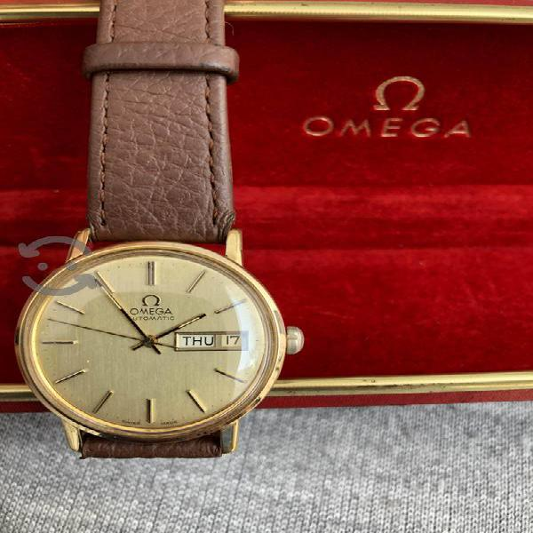 Reloj omega automático fechador oro 1979