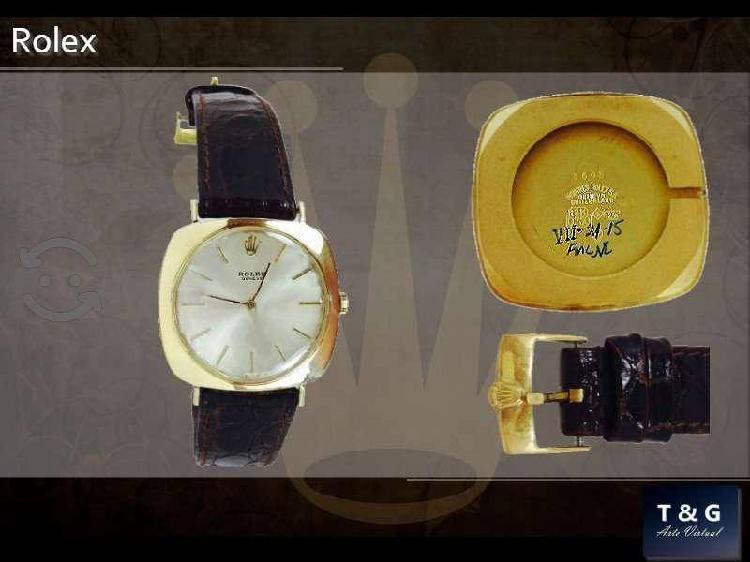 Reloj original rolex cellini de oro solido de 18k
