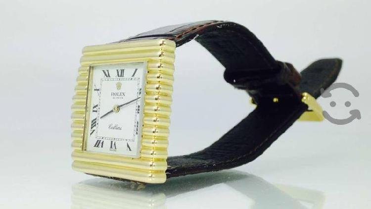 Reloj original rolex cellini king midas oro de 18k