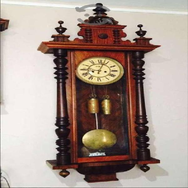 Reloj regulador de pared marca gustav becker