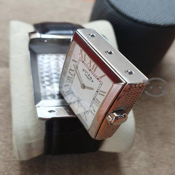 Reloj reverso rotary quartz suizo vta.cmb