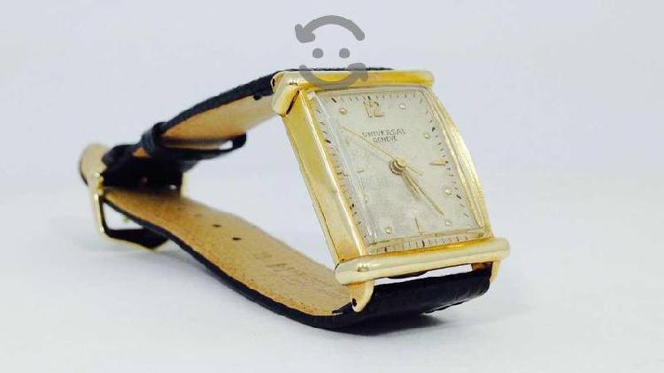 Reloj universal geneve caja oro sólido 18k