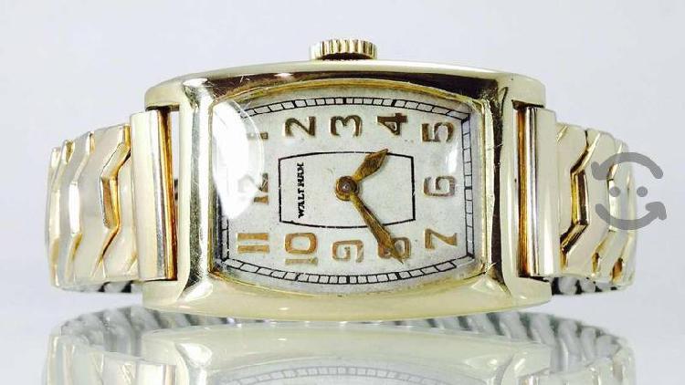 Reloj waltham oro sólido 14k antiguo p/caballero