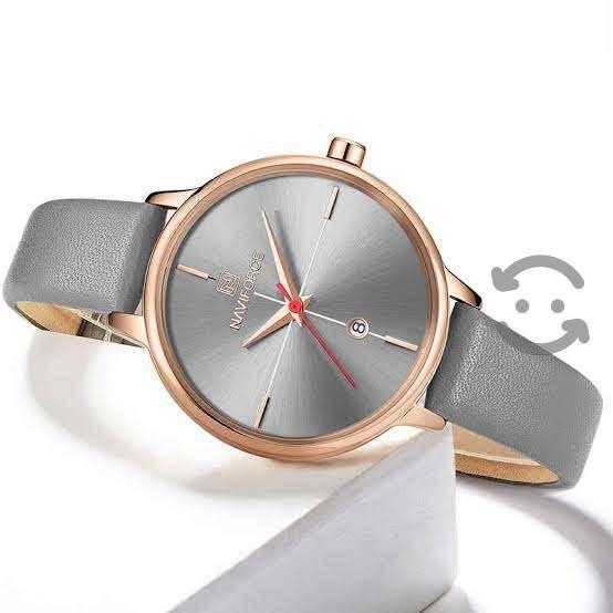 Reloj gris naviforce para mujer nuevo