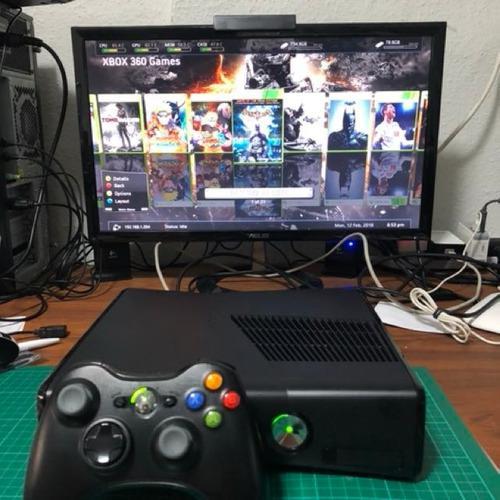 Xbox 360, slim 500, chip rgb