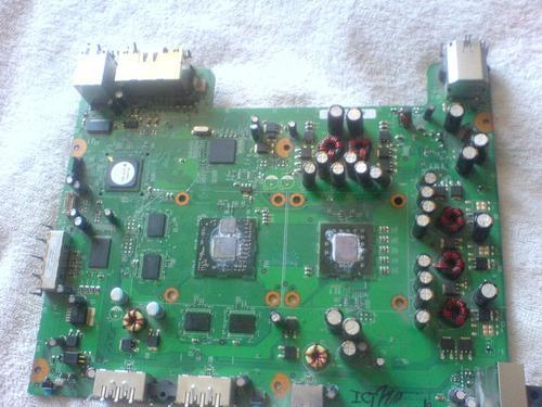 Xbox 360 tarjeta madre con hdmi con 3 luces rojas