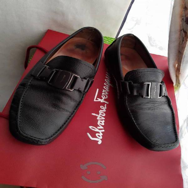 Zapatos mocasines salvatore ferragamo #8/usados