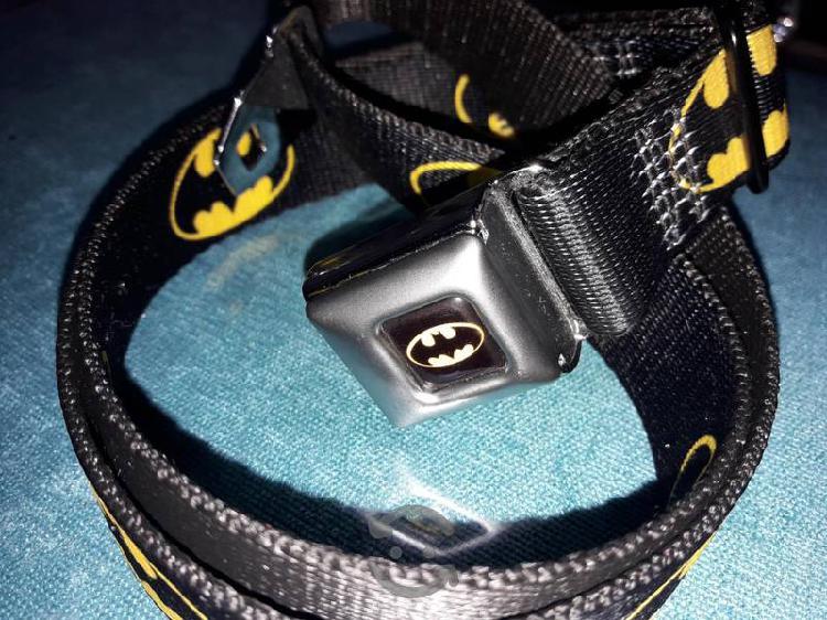 Cinturon con hebilla de seguridad