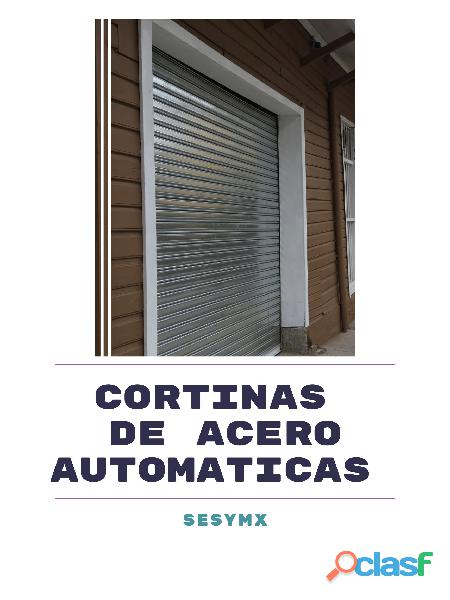 Cortinas de acero automáticas