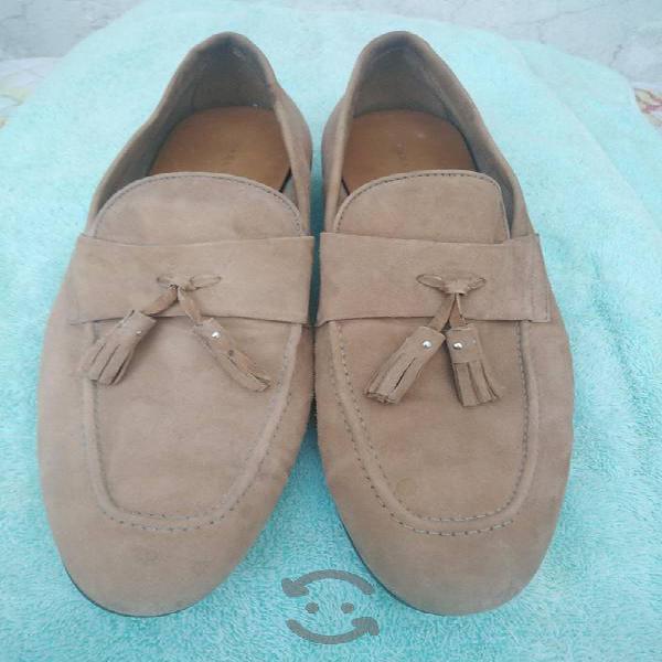 Zapatos zara man del num 8.5 mex seminuevos