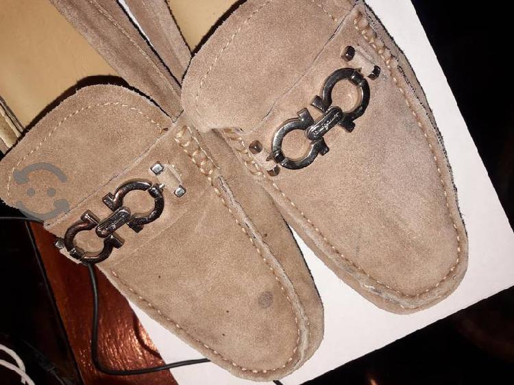 Zapatos mocasines salvatore ferragamo italy v/c