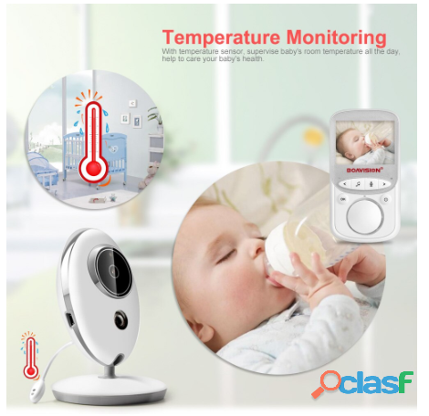 Audio Video Monitor de bebé VB605 1