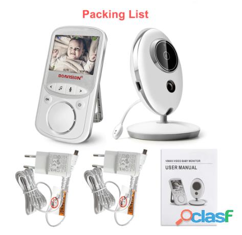 Audio Video Monitor de bebé VB605 2