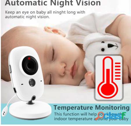 Monitor de bebe video inalambrica. 1