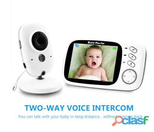 Monitor de bebe video inalambrica. 3
