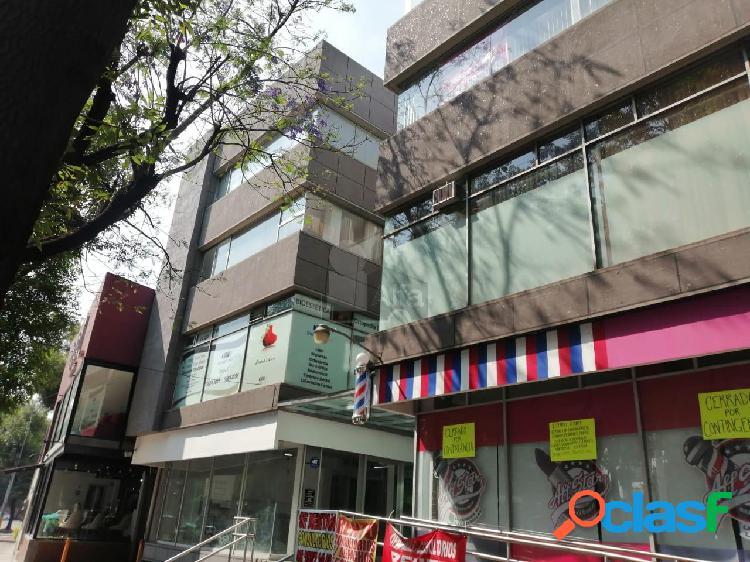Oficina en renta en plaza comercial sobre canal demiramontes coyoacan, oficina en renta de 25 m2.