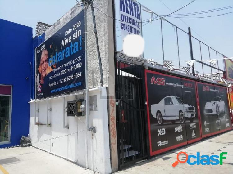 Oficinas en renta en coyoacan sobre avenida miramontes, oficina en renta 90m2.