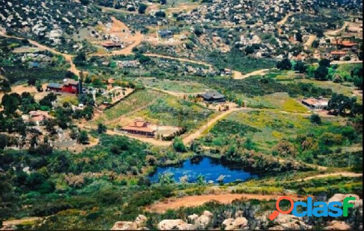 Terreno campeste en venta en tecate, b.c.