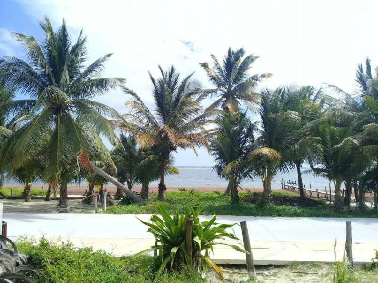 Terreno en venta en mahahual/riviera maya