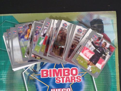 34 Estampas Del Álbum Bimbo Stars Juego De Estrellas 2003