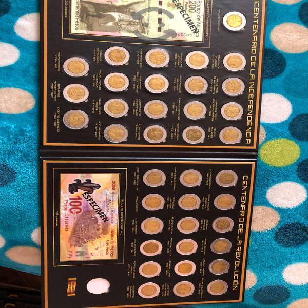 5 pesos album coleccion revolucion independencia