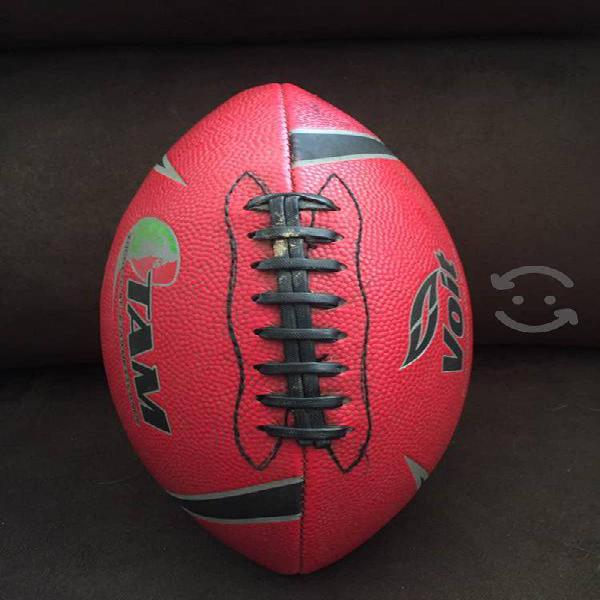 Balon futbol americano voit tam flame no. 7 rojo