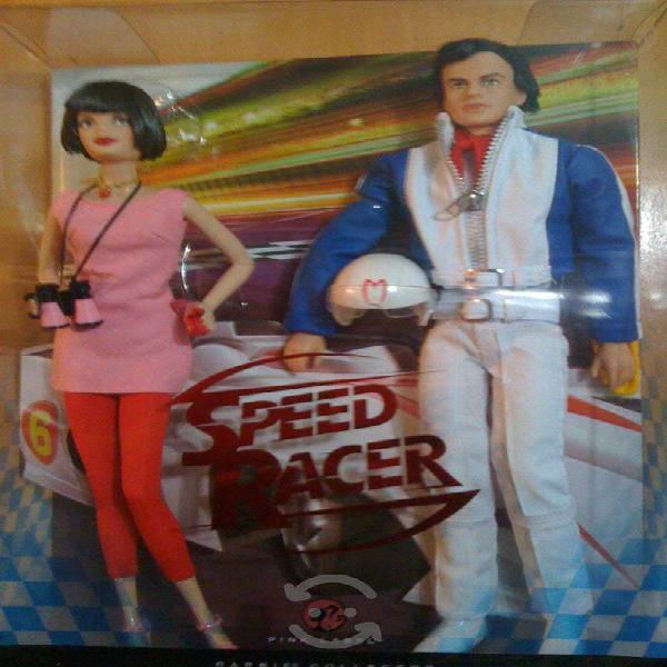 Barbie speed racer set importados
