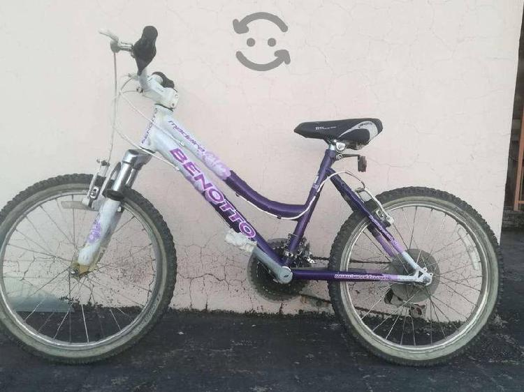 Bicicleta benotto como nueva rodado 20
