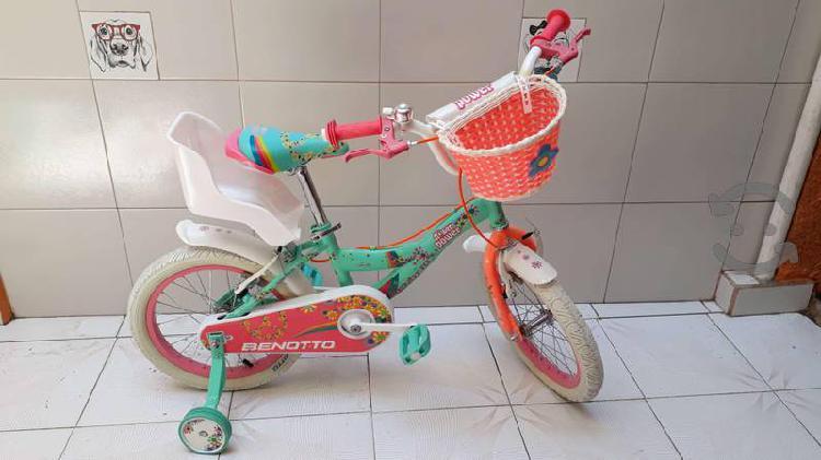 Bicicleta benotto niña