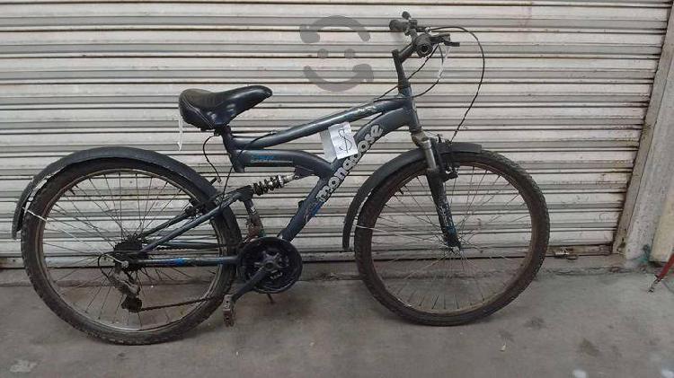 Bicicleta montaña mongoose r26 doble suspensión
