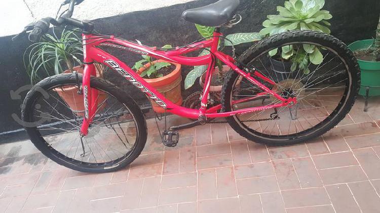Bicicleta benotto r 26 progression seminueva