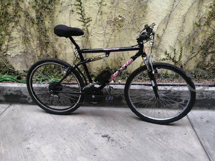 Bicicleta eléctrica benotto, kit nuevo