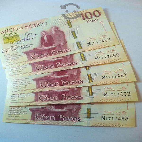 Billetes conmemorativos