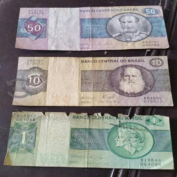 Billetes antiguos de brasil