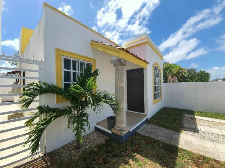 Casa en renta 2 recamaras en residencial marsella 1