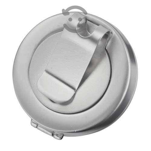 Clip con marcador de pelotas. golf. metal