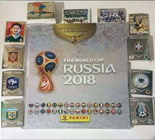 Colección completa álbum russia 2018 & álbum pasta dura