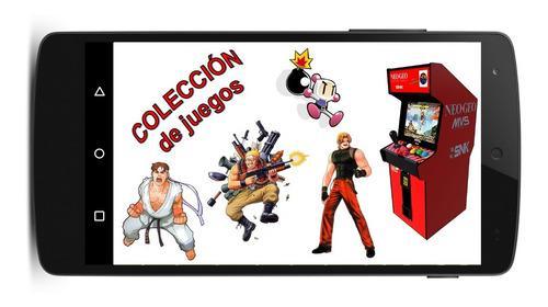Coleccion 110 juegos de maquinitas neo geo y capcom android