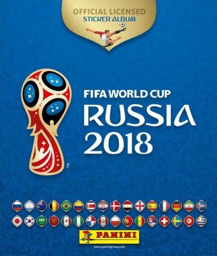 Coleccion completa album russia 2018