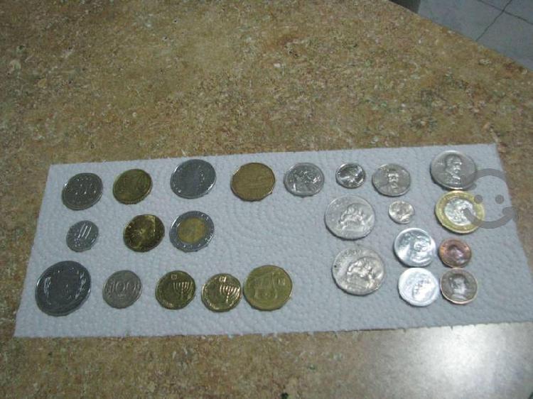 Coleccion de monedas nacionales y extranjeras